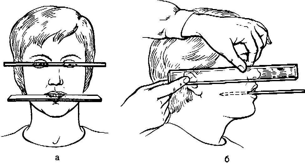 Методы определения центрального соотношения челюстей